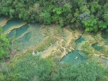 Guatemala Semuc Champey Arkivfoto