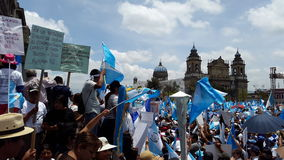 Guatemala-Stadt, nationaler Palast stockfotos
