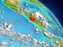 Guatemala van baan stock illustratie