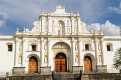 Guatemala, View of San Jose cathedral in Antigua Stock Images