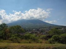 Guatemala Volcano Royalty Free Stock Images