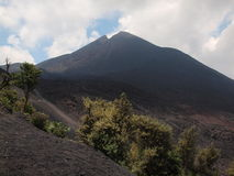 Guatemala Volcano Royalty Free Stock Photos