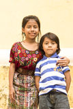 Guatemalaanse broers Stock Foto's