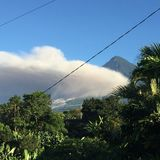 Guatemalaanse mist Royalty-vrije Stock Foto