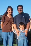 A Guatemalan-American family, Ojai, CA Stock Image