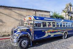 Guatemalan Chicken Bus Royalty Free Stock Image