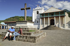 Guatemalan church Royalty Free Stock Photography