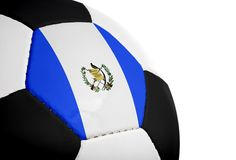 Guatemalan Flag - Football Stock Photo