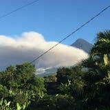 Guatemalan fog. Guatemalan volcano fog Royalty Free Stock Photo