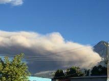 Guatemalan fog. Guatemalan volcano fog Royalty Free Stock Photos