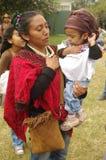 Guatemalan national anthem. Salute during Guatemalan national anthem Stock Photos