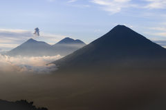 Guatemalan volcano Royalty Free Stock Images