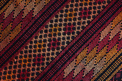 Guatemalan woven fabric Royalty Free Stock Photo