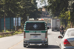 Guatemalansk ambulans Fotografering för Bildbyråer