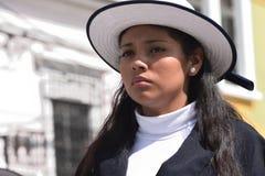 Guatemalansk handelsresande för flickaskolamusikband Royaltyfri Bild