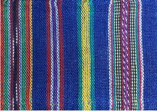 Guatemalteke Handcraft und Farben Lizenzfreies Stockbild