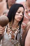 Guatu-Miliampère-cu de Concilio Taíno um Borikén Fotos de Stock Royalty Free