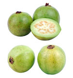 Guava. S on isolated background with path....2 different shots Stock Photography