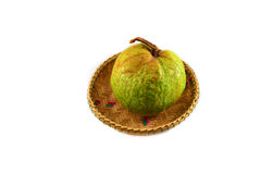 Guava on basket Stock Photo