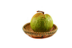 Guava on basket Royalty Free Stock Image
