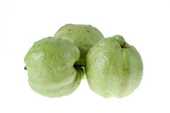 Guava fruit has green skin vitamin C. Royalty Free Stock Photography