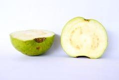 Guava Fruit. Isolated sliced on white background Royalty Free Stock Image
