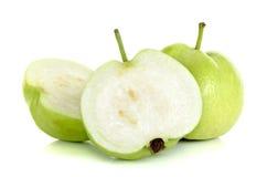 Guava fruit isolated on the white background Stock Image