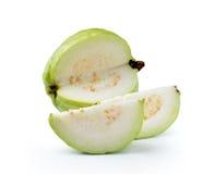 Guava fruit isolated on white background Stock Images