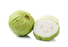 Guava fruit isolated on white background Stock Photo
