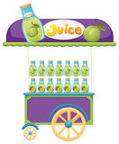 A guava fruit juice cart Stock Photos