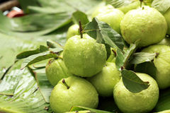 Guava fruit in the market Stock Images