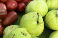 Guava fruit in the market Royalty Free Stock Photography