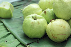 Guava fruit in the market Royalty Free Stock Photos