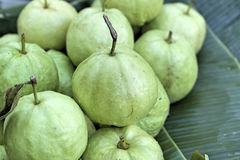 Guava fruit in the market Stock Photo