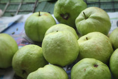 Guava fruit at the market Royalty Free Stock Image