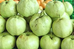 Guava fruit in the market Royalty Free Stock Images