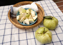 Guava fruit ready to eat Stock Images