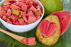 Guava fruit salad Royalty Free Stock Photography