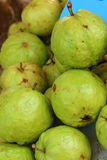 Guava fruit on a table in the market Stock Photo