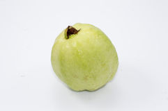Guava fruit. On white background Royalty Free Stock Photos