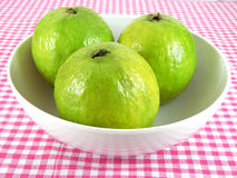 Guava Fruits. In a bowl Stock Image