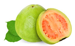 Guava isolated on white Stock Image