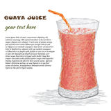 Guava juice Stock Photo