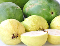 Guava and papaya Royalty Free Stock Image