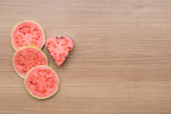 Guava, refreshing red fruit for juice Royalty Free Stock Photography