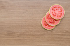 Guava, refreshing red fruit for juice Stock Photo