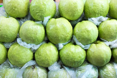 Guava selling at the market Stock Photos