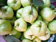 Guava in the street market Royalty Free Stock Images
