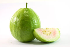 Guava on white background. Asia Royalty Free Stock Image