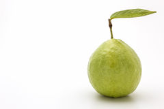 Guava on white background. Royalty Free Stock Images
